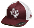 "Texas A&M Aggies Adidas NCAA ""Fan Gear"" Structured Meshback Flex Hat"