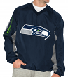 "Seattle Seahawks NFL G-III ""The Gridiron"" Men's Pullover Embroidered Jacket"