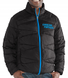 "Carolina Panthers Men's NFL G-III ""Blitz"" F/Zip Packable Quilted Jacket with Bag"