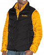 "Pittsburgh Steelers G-III NFL ""Three N Out"" Systems 3-in-1 Premium Vest Jacket"