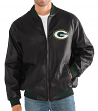 "Green Bay Packers G-III NFL ""Stiff Arm"" Men's Premium Varsity Jacket"