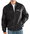 "New England Patriots G-III NFL ""Stiff Arm"" Men's Premium Varsity Jacket"