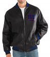 "New York Giants G-III NFL ""Stiff Arm"" Men's Premium Varsity Jacket"