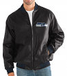 "Seattle Seahawks G-III NFL ""Stiff Arm"" Men's Premium Varsity Jacket"