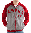 "San Francisco 49ers NFL G-III ""Legend"" Men's Full Zip Embroidered Track Jacket"