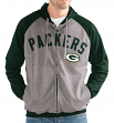 "Green Bay Packers NFL G-III ""Legend"" Men's Full Zip Embroidered Track Jacket"