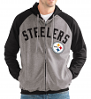 "Pittsburgh Steelers NFL G-III ""Legend"" Men's Full Zip Embroidered Track Jacket"