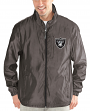 "Oakland Raiders NFL G-III ""Executive"" Full Zip Premium Men's Jacket"