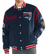 "New England Patriots G-III NFL ""All Time"" Men's Commemorative Varsity Jacket"