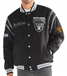 "Oakland Raiders G-III NFL ""All Time"" Men's Commemorative Varsity Jacket"