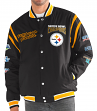 "Pittsburgh Steelers G-III NFL ""All Time"" Men's Commemorative Varsity Jacket"