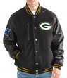 "Green Bay Packers G-III NFL ""Heavy Hitter"" Men's Premium Varsity Jacket"