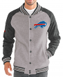 "Buffalo Bills G-III NFL ""The Ace"" Men's Premium Sweater Varsity Jacket"