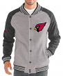 "Arizona Cardinals G-III NFL ""The Ace"" Men's Premium Sweater Varsity Jacket"