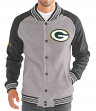 "Green Bay Packers G-III NFL ""The Ace"" Men's Premium Sweater Varsity Jacket"