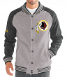"Washington Redskins G-III NFL ""The Ace"" Men's Premium Sweater Varsity Jacket"