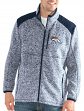 "Denver Broncos NFL G-III ""Back Country"" Full Zip Men's Sweater Jacket"