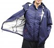 "New England Patriots G-III NFL ""Acclimate"" Systems 3-in-1 Premium Hooded Jacket"