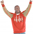 "San Francisco 49ers NFL Men's G-III ""Hands High"" Hooded Fleece Sweatshirt"