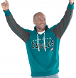 "Philadelphia Eagles NFL Men's G-III ""Hands High"" Hooded Fleece Sweatshirt"
