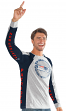 "New England Patriots G-III NFL ""Big Hitter"" Men's Long Sleeve Slub Shirt"