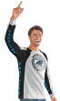 "Carolina Panthers G-III NFL ""Big Hitter"" Men's Long Sleeve Slub Shirt"