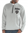 "Oakland Raiders G-III NFL ""Deep Out"" 1/4 Zip Premium Men's Sweatshirt"