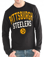 "Pittsburgh Steelers G-III NFL ""Ringer"" Men's Long Sleeve Thermal Shirt"
