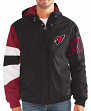 "Arizona Cardinals NFL Men's Starter ""Knockdown"" Full Zip Premium Hooded Jacket"