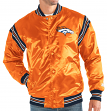 "Denver Broncos NFL Men's Starter ""The Enforcer"" Premium Satin Jacket"