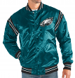 "Philadelphia Eagles NFL Men's Starter ""The Enforcer"" Premium Satin Jacket"