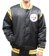 "Pittsburgh Steelers NFL Men's Starter ""The Enforcer"" Premium Satin Jacket"