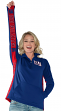"New York Giants Women's G-III NFL ""MVP"" 1/4 Zip Premium Pullover Sweatshirt"
