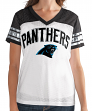 "Carolina Panthers Women's G-III NFL ""All American"" V-Neck Mesh Top"