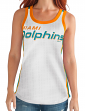 "Miami Dolphins Women's G-III NFL ""Opening Kick"" Jersey Tank Top"
