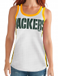 "Green Bay Packers Women's G-III NFL ""Opening Kick"" Jersey Tank Top"