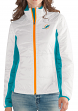 "Miami Dolphins Women's NFL G-III ""Fullback"" Full Zip Quilted Jacket"