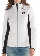 "Oakland Raiders Women's NFL G-III ""Fullback"" Full Zip Quilted Jacket"