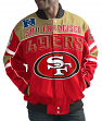 "San Francisco 49ers Men's NFL G-III ""Blitz"" Premium Cotton Twill Jacket"