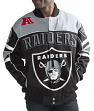 "Oakland Raiders Men's NFL G-III ""Blitz"" Premium Cotton Twill Jacket"