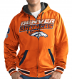 "Denver Broncos NFL G-III ""Hot Shot"" Full Zip Men's Reversible Sweatshirt"