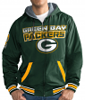 "Green Bay Packers NFL G-III ""Hot Shot"" Full Zip Men's Reversible Sweatshirt"