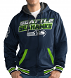 "Seattle Seahawks NFL G-III ""Hot Shot"" Full Zip Men's Reversible Sweatshirt"