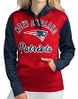 "New England Patriots NFL Women's G-III ""Goal Kick"" Pullover Hooded Sweatshirt"