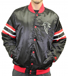 "Atlanta Falcons NFL Starter ""The Captain"" Premium Button-Up Polyfill Jacket"