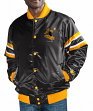 "Pittsburgh Steelers NFL Starter ""The Captain"" Premium Button-Up Polyfill Jacket"