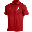 "Wisconsin Badgers Under Armour NCAA ""Tour"" Men's Performance Polo Shirt"