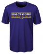 "Baltimore Ravens Youth NFL ""Hard Hit"" Performance Short Sleeve T-Shirt"