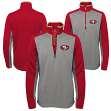 "San Francisco 49ers Youth NFL ""Matrix"" 1/4 Zip Pullover Sweatshirt"