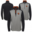 "Cincinnati Bengals Youth NFL ""Matrix"" 1/4 Zip Pullover Sweatshirt"